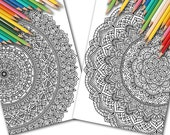 Two Full-Page Mandalas fo...
