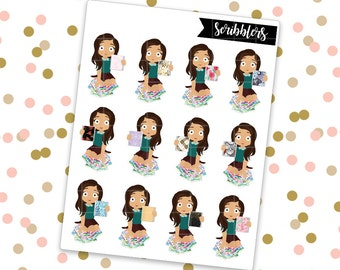 Sophia - Planner || Scribblers // Limited Edition [24HR ONLY] (Glossy Planner Stickers)