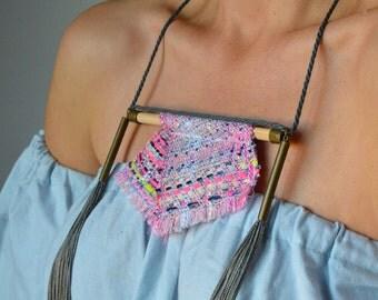 Handwoven necklace Ranran Design
