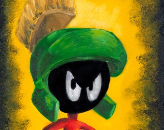 Marvin the Martian (ART PRINT)