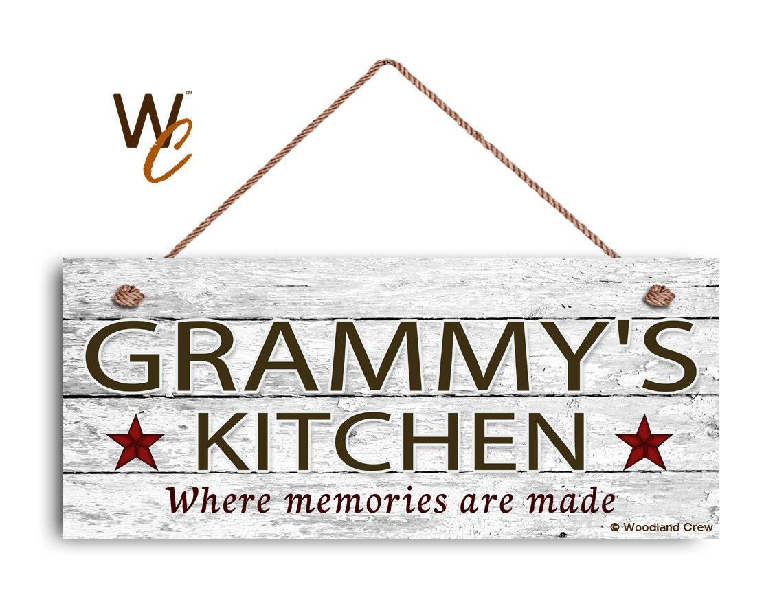 Grammy S Kitchen Signs