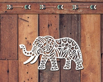 Elephant Decal | Yeti Decal | Yeti Sticker | Tumbler Decal | Car Decal | Vinyl Decal