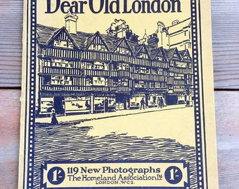 Dear Old London 119 New Photographs 1927