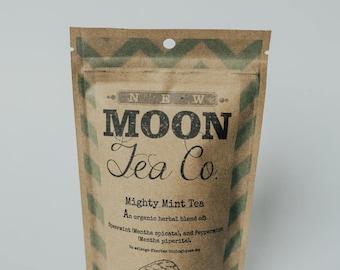 Mighty Mint Tea Organic Herbal Loose Leaf Tea
