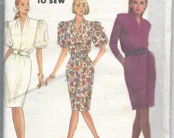 Simplicity 7012 Misses Dress Size 6-14