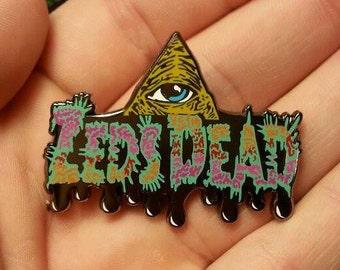 Zeds Dead Illuminati Heady Hat Pin