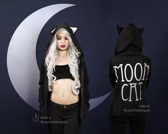 Moon Cat Hoodie