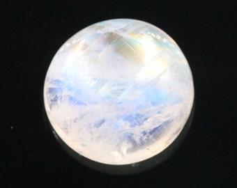 Blue Moonstone 17mmRD 20.24ct Loose stone
