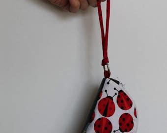 Ladybug Change Purse, Coin Purse, Ladybug (Flittermouse)