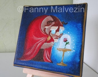 Beast (Beauty and the Beast) - Mini painting