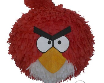 Angry Bird pinata. (Red bird)