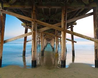 Balboa Pier, Newport Beach, California, Fine Art Landscape Photograph