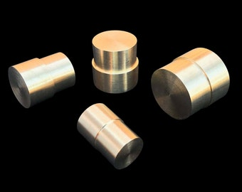 "COMPLETE Brass Push Rod Plunger SET for the ""Swedish Wrap Method"" with 8 Diameter-Sized Options"