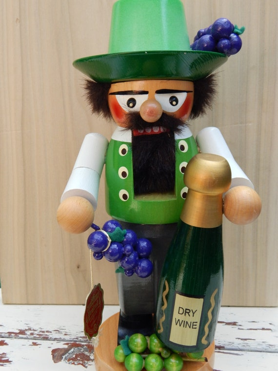 Steinbach German Nutcracker Wine Seller Wine Maker in Original Box /