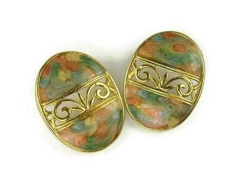 Pastel Easter Egg Earrings