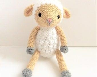 Crochet Lamb Pattern, Crochet Sheep Pattern, Crochet Easter Pattern, Amigurumi Lamb Pattern, Easter Lamb Pattern, Amigurumi Sheep, Tutorial