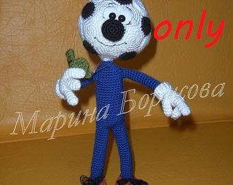 Football Boy Crochet Pattern amigurumi PDF