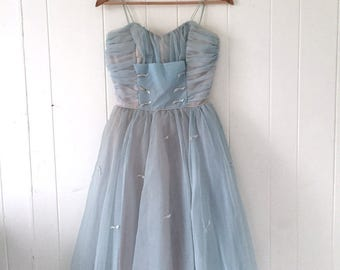 50s Tulle Dress - Size XS