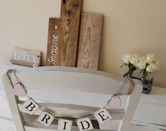Wedding gift. Wedding banner. Bride banner. Bridal shower.