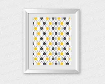 Geometric Art Printable / Geometric Art Print | Abstract Printable | Geometric Wall Art | Home Wall Decor | Printable Wall Art | Modern Art