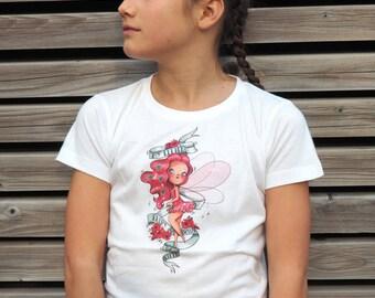 """T-shirt girl """"My little fairy"""""""