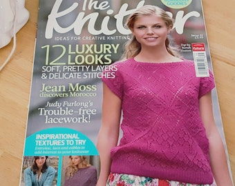 2011 UK Magazine The Knitter New Knitting Patterns