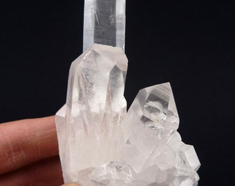 Diamantina Quartz | Quartz Cluster | Clear Quartz | Quartz Crystal | Raw Quartz | Quartz | Diamantina | Brazil | 97 grams