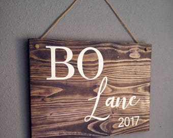 Baby Name Sign | Nursery Name Sign |Personalized Name Sign | Nursery Sign | Custom Name sign | Baby Name Announcement | Baby Gift | Rustic