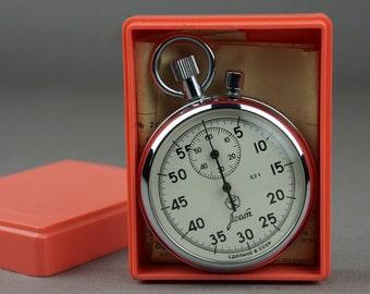 stopwatch, soviet stopwatch, USSR Stopwatch, stopwatch AGAT, sports equipment, AGAT, mechanical stopwatch