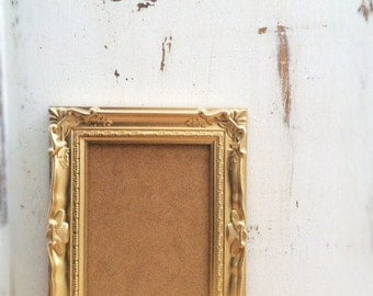 5x7 Gold Picture Frame, French Country, Shabby Chic, Baroque, Ornate, Vintage Style, Wedding Table Number Frame, Home, Wall Decor