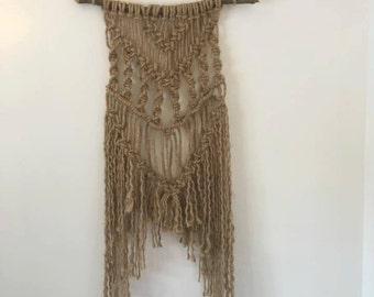 Jute Rope Tapestry