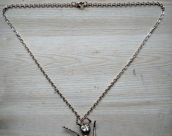 Gold Ant Necklace