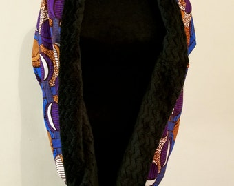 Ankara faux wrap