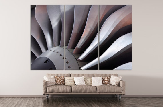 Aviation Wall Art air turbine canvas print aviation wall art engine propeller