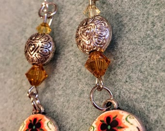 Sugar Skull Earrings (with ornaments)