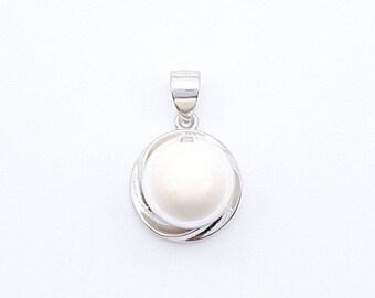 DIY Breastmilk Jewelry Kit - Sterling Silver Breast Milk Pendant. Do it Yourself Breast Milk Preservation Kit - PB-41