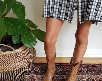 Vintage Leather Cowboy Boots.