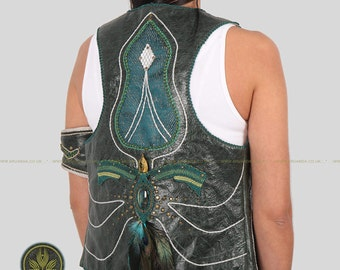 Flowing in the Wind Collection - Handmade Macrame Vest