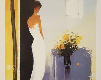 Woman Silhouette Print