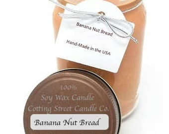 100% Soy Wax Scented Candle