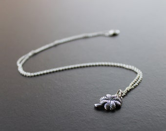 Lucky Clover Sterling Silver Necklace