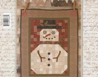 """Primitive Folk Art Quilt Pattern: """"Olde Mr. Jack"""" - Design by Stacy West of Buttermilk Basin"""