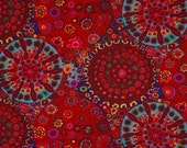 Millefiore in Red  GP92 - Kaffe Fassett for Free Spirit Fabrics - By the Yard