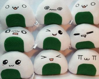 Chibi Onigiri (Riceball) plushies