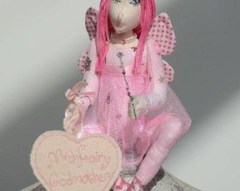 Fairy Godmother Doll Ornament