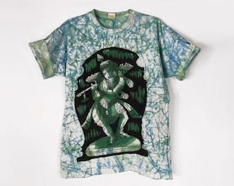 Meditation Clothing/ Boho T Shirt/ Hare Krishna/ Hindu/ Buddha Tshirt/ Hippie T Shirt/ Hindu God/ Grunge T Shirt/ Krishna/ Hamsa Shirt