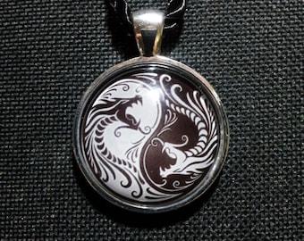 Dragon Yin Yang Necklace + Free Shipping Worldwide,Yin Yang,Spiritual jewelry,Taoist Jewelry, Dragon Yin Yang Jewelry