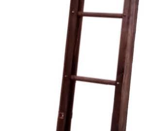 Jefferson Folding Collapsible Antique Ladder