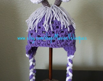 Ready to ship!! Monster inc. Boo inspired crochet beanie. Ready to ship. Selected sizes only. Crochet Boo disguise hat