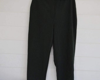 SALE 1990s Women's Green Slacks